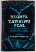 Books:Science Fiction & Fantasy, August Derleth. Night's Yawning Peal. A Ghostly Company. Sauk City: Arkham House Publishers, 1952. First edition...