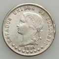 Colombia, Colombia: Bogota 50 Centavos 1874 -86 Study Lot,... (Total: 11coins)