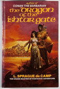 Books:Science Fiction & Fantasy, L. Sprague de Camp. SIGNED. The Dragon of the Ishtar Gate. Norfolk: Donning, [1982]. Later edition. Signed by de C...