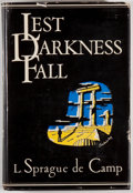 Books:Science Fiction & Fantasy, L. Sprague de Camp. SIGNED. Lest Darkness Fall. Philadelphia: Prime Press, [1949]. First edition, first printing...