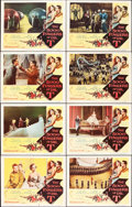 """Movie Posters:Fantasy, The 5000 Fingers of Dr. T (Columbia, 1953). Lobby Card Set of 8 (11"""" X 14"""").. ... (Total: 8 Items)"""