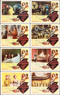 "The 5000 Fingers of Dr. T (Columbia, 1953). Lobby Card Set of 8 (11"" X 14""). ... (Total: 8 Items)"
