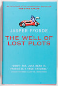 Books:Mystery & Detective Fiction, Jasper Fforde. SIGNED. The Well of Lost Plots. London: Hodder &Stoughton, 2003. First edition. Signed by the author on th...