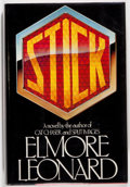 Books:Mystery & Detective Fiction, Elmore Leonard. SIGNED. Stick. New York: Arbor House, 1983.First edition. Signed by the author on the title p...