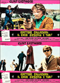 """Movie Posters:Crime, Dirty Harry (Warner Brothers, 1971). Italian Photobusta Set of 10(26.5"""" X 18"""").. ... (Total: 10 Items)"""