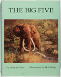 Books:Sporting Books, Anthony Dyer. SIGNED AND INSCRIBED LIMITED EDITION. The BigFive. Agoura: Trophy Room Books, 1996. Limited to ...