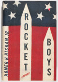 Books:Biography & Memoir, Homer H. Hickam, Jr. SIGNED. Rocket Boys. A Memoir. NewYork: Delacorte Press, 1998. First edition. Signed by ...