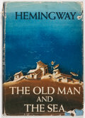 Books:Literature 1900-up, Ernest Hemingway. The Old Man and the Sea. New York: CharlesScribner's Sons, 1952. Later printing. Octavo. 140 ...