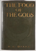Books:Science Fiction & Fantasy, [Jerry Weist]. H. G. Wells. The Food of the Gods and How It Came to Earth. New York: Charles Scribner's Sons, 1904. First Am...