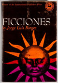 Books:Fiction, [Jerry Weist]. Jorge Luis Borges. Ficciones. New York: Grove Press,Inc., 1962. First printing. Octavo. 174 pages. Publisher...