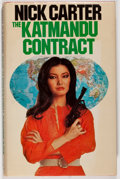 Books:Mystery & Detective Fiction, Nick Carter. The Katmandu Contract. London: Allan Wingate,1978. First English edition. Octavo. 171 pages. Publi...