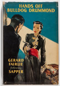 Books:Mystery & Detective Fiction, Gerard Fairlie following Sapper. Hands Off Bulldog Drummond!London: Hodder & Stoughton, 1949. First edition. Oc...