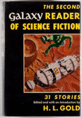Books:Science Fiction & Fantasy, [Jerry Weist]. [Forrest J. Ackerman's copy]. H. L. Gold, editor. SIGNED. The Second Galaxy Reader of Science Fiction...