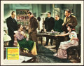 "Movie Posters:Mystery, The Adventures of Sherlock Holmes (20th Century Fox, 1939). LobbyCard (11"" X 14"").. ..."
