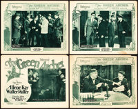 "The Green Archer (Pathé, 1925). Title Lobby Card and Lobby Cards (3) (11"" X 14"") Chapter 9 -- ""The..."