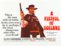 "Movie Posters:Western, A Fistful of Dollars (United Artists, 1967). British Quad (30"" X40"").. ..."