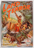 Books:Literature 1900-up, Edgar Rice Burroughs. Land of Terror. Tarzana: Edgar RiceBurroughs, Inc., 1944. First edition. Octavo. 319 page...