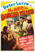 """Movie Posters:Mystery, Mr. Moto in Danger Island (20th Century Fox, 1939). One Sheet (27""""X 40.75"""").. ..."""