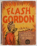 Books:Children's Books, [Big Little Book]. Alex Raymond. Flash Gordon and the WitchQueen of Mongo. Racine: Whitman, [1936]. Square sixt...