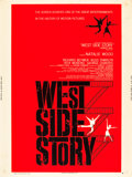 "Movie Posters:Academy Award Winners, West Side Story (United Artists, 1961). Poster (30"" X 40"") StyleZ.. ..."