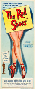 "Movie Posters:Fantasy, The Red Shoes (Eagle Lion, 1948). Insert (14"" X 36"").. ..."
