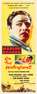 "Movie Posters:Academy Award Winners, On the Waterfront (Columbia, 1954). Insert (14"" X 36"").. ..."