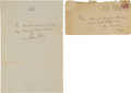 Autographs:Letters, 1934 Ty Cobb Handwritten Signed Letter....