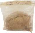 Baseball Collectibles:Others, 1975 World Series Game Seven Game Used Rosin Bag....
