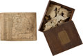 Miscellaneous:Gaming Collectibles, [Richard Blythe]. Jigsaw Puzzle, Circa 1784.... (Total: 2 Items)