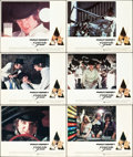 """Movie Posters:Science Fiction, A Clockwork Orange (Warner Brothers, 1971). British Lobby Cards(11) (11"""" X 14"""").. ... (Total: 11 Items)"""
