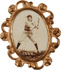 Baseball Cards:Singles (Pre-1930), 1915 PM1 Ornate Frame Pins Ty Cobb. ...
