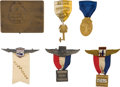 Miscellaneous, Richard R. Blythe Aviation Archive consisting of medals,photographs, a New York Aero Club Trophy, a Who's Who in AmericanA...