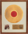 Music Memorabilia:Awards, Loggins and Messina RIAA Gold Album Award. ...