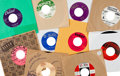 Music Memorabilia:Recordings, R&B Vocal Group 45s - Group of 26 (1950s/60s).... (Total: 26 Items)