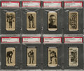 Hockey Cards:Lots, 1928 V128-2 Paulin's Candy Hockey SGC-Graded Collection (8). ...