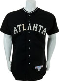 Baseball Collectibles:Uniforms, Circa 1990 Mickey Mantle Signed Atlanta Crackers Jersey....