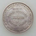 Chile, Chile: Medals 1818 -1898 and a Token, ... (Total: 7 medals)