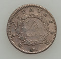 Colombia, Colombia: Popayan 1/2 Real 1838-RU Rarity,...
