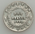 Colombia, Colombia: Popayan 2 Reales 1880 Scarce Type,...