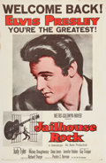 "Music Memorabilia:Posters, Jailhouse Rock ""Welcome Back"" One Sheet...."