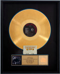 Music Memorabilia:Awards, Beatles Related - Paul McCartney All the Best RIAA GoldAlbum Award....