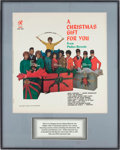 Music Memorabilia:Posters, Phil Spector's A Christmas Gift for You from Philles RecordsAlbum Slick....
