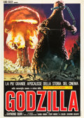 "Movie Posters:Science Fiction, Godzilla (Paramount, R-Late 1970s). Italian 2 - Foglio (39"" X55"").. ..."