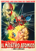 "Movie Posters:Horror, Doctor Cyclops (Paramount, R-1961). Italian 2 - Foglio (39"" X55"").. ..."