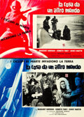 """Movie Posters:Science Fiction, The Thing from Another World (Fida Cinematographia, R-1961).Italian Photobustas (8) (18.5"""" X 26.5""""). .. ... (Total: 8Items)"""