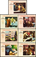 "Movie Posters:Hitchcock, Rear Window (Paramount, 1954). Lobby Cards (7) (11"" X 14"").. ...(Total: 7 Items)"