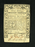Colonial Notes:Rhode Island, Rhode Island May 1786 30s Choice About New. A single centerfold isfound on this crisp and well signed colonial note....