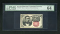 Fractional Currency:Fifth Issue, Fr. 1266 10c Fifth Issue PMG Choice Uncirculated 64EPQ. Exceptional Paper Quality is in plain view on this vibrant and wonde...