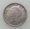 Colombia, Colombia: Medellin 2 Decimos 1872 Study Lot, ... (Total: 16 coins)