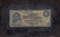 Fine Art - Painting, American:Antique  (Pre 1900), NICHOLAS ALDEN BROOKS (American, 1840-1904). Two Dollar Bill. Oil on board. 6-3/4 x 10-3/4 inches (17.1 x 27.3 cm). Sign...